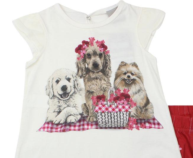 Conjunto Cachorros Bonitinhos Carinhoso