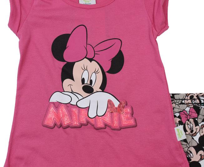 Conjunto Feminino Minnie Mouse Disney Baby Brandili