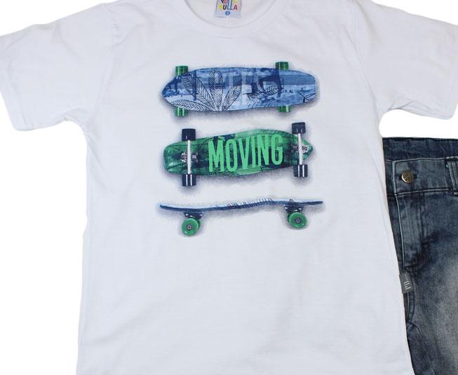 """Conjunto Masculino Skate """"Moving"""" Pulla Bulla"""