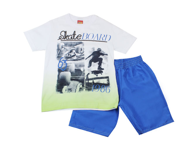 Conjunto Camiseta Skate + Short Kyly