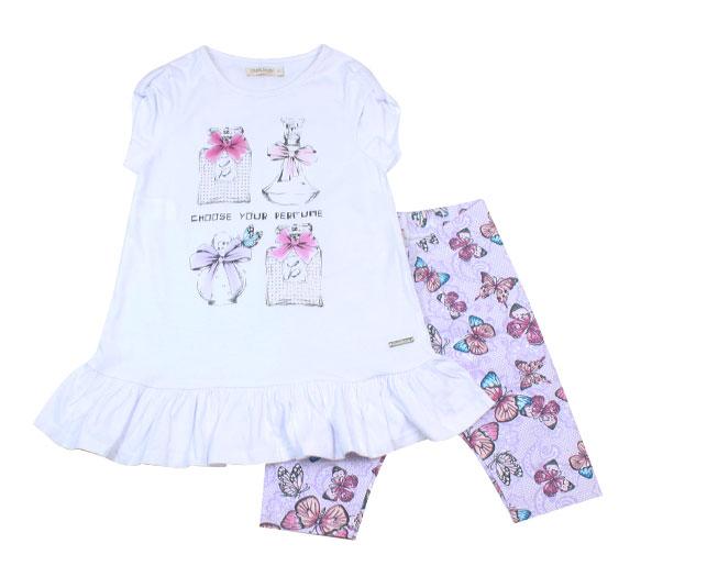 Conjunto Choose Your Perfume Legging+Camiseta Carinhoso