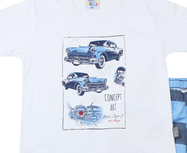 """Conjunto """"Concept art""""  Branco Pulla Bulla"""