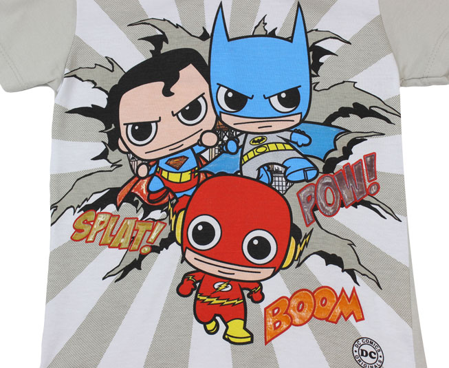 Conjunto DC Super-Heróis  Kamylus