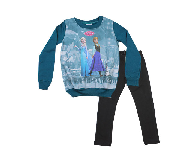 Conjunto de Inverno Disney Frozen Brandili