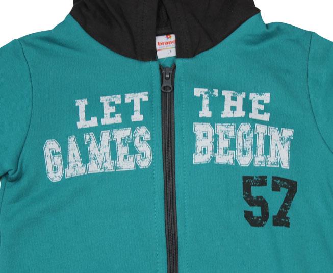 Conjunto Masculino de Inverno 'Let the Games Begin' Brandili