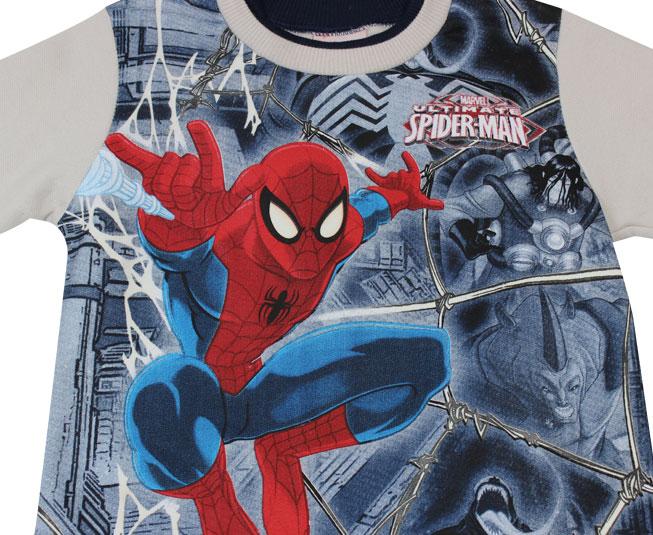 Conjunto de Inverno Spider Man  Brandili