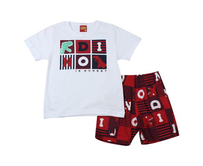 Conjunto Dino Short + Camiseta Kyly