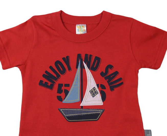 "Conjunto Masculino ""Enjoy and Sail"" Pulla Bulla"