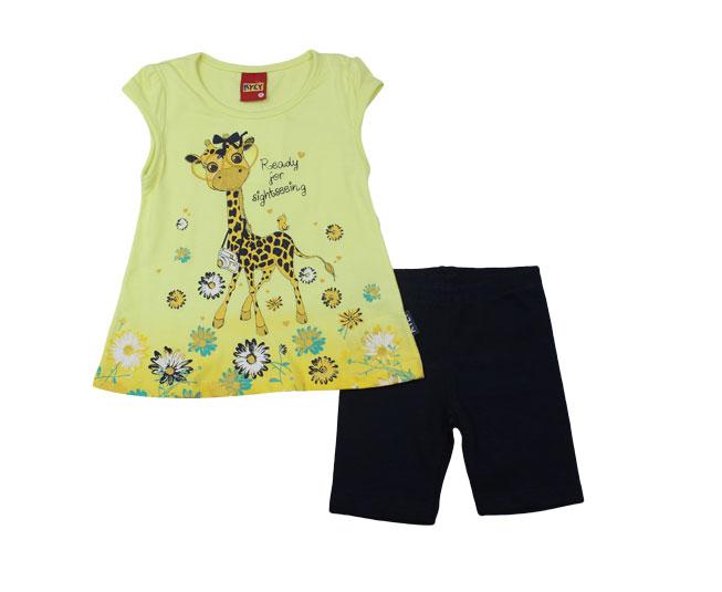 Conjunto Feminino Girafinha Feliz Kyly
