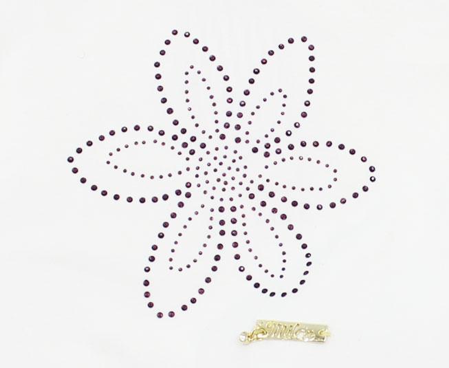 Conjunto Feminino Infantil de Flores Milon