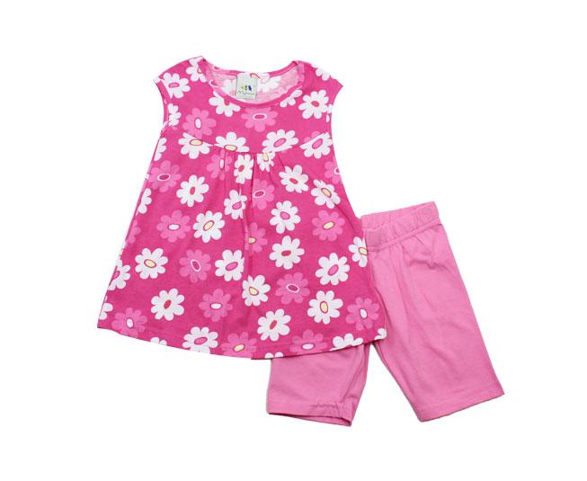 Conjunto Feminino Infantil Florido Malwee