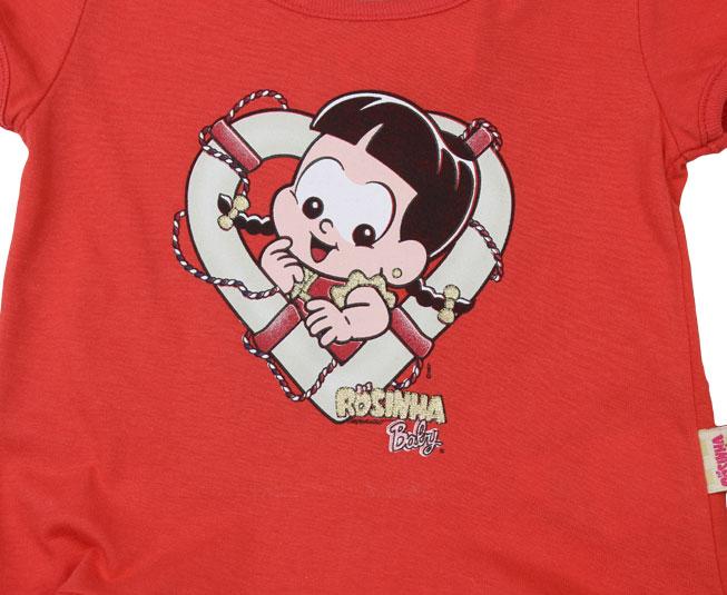 Conjunto Feminino Rosinha Baby Brandili