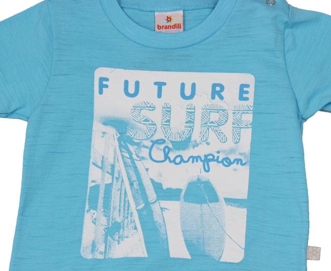 Conjunto Masculino 'Future Surf Champion' Azul Brandili