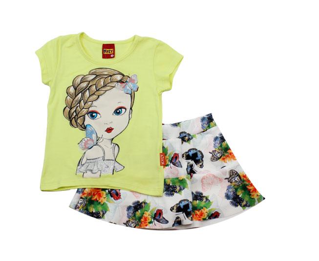 Conjunto Infantil Feminino de Garotinha Kyly