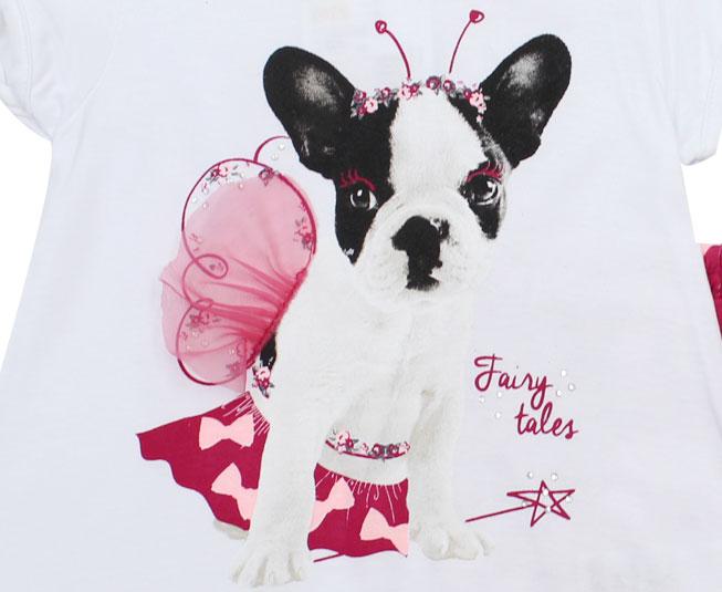 Conjunto Infantil Feminino Fairy Dog Kyly