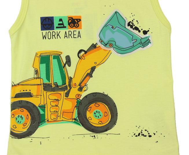 Conjunto Infantil Masculino Work Area Kyly