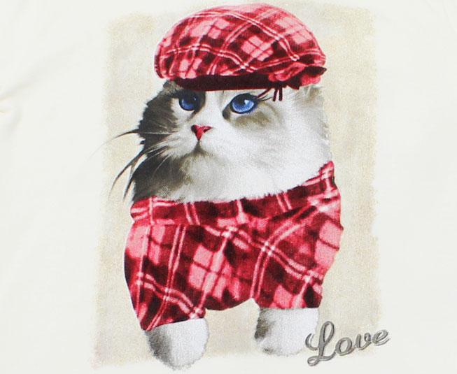 Conjunto Inverno Feminino Brandili Blusa de Gato e Calça