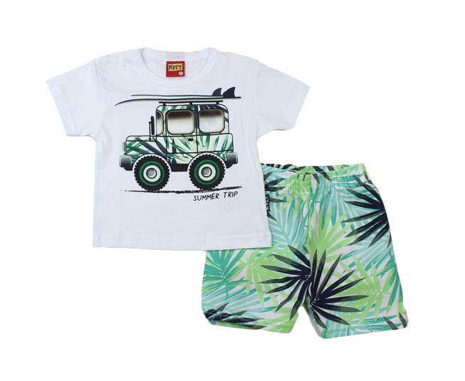 Conjunto Jipe de Praia Camiseta + Short Kyly