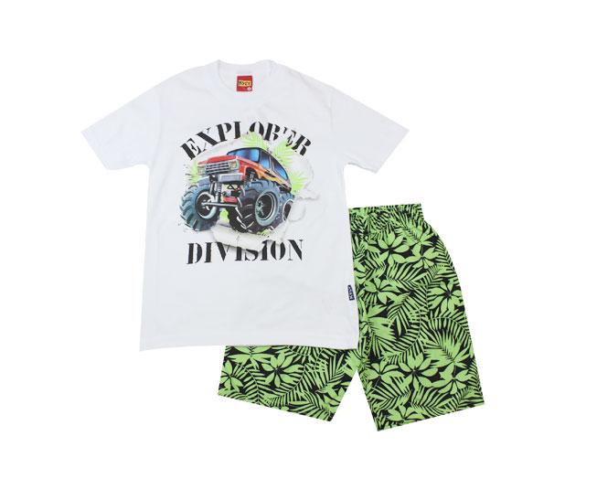 "Conjunto Masculino Camiseta "" Explorador"" + Short Kyly"