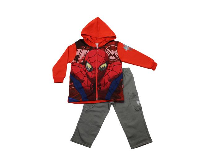 Conjunto Masculino de Inverno Homem Aranha Brandili Marvel