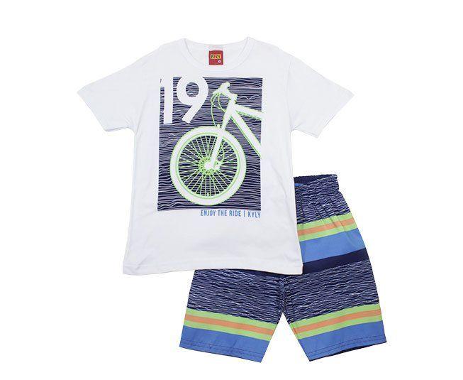 Conjunto Masculino Estampado Bike Kyly
