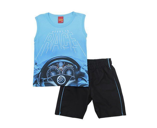 Conjunto Masculino Estampado Ready to Race Kyly