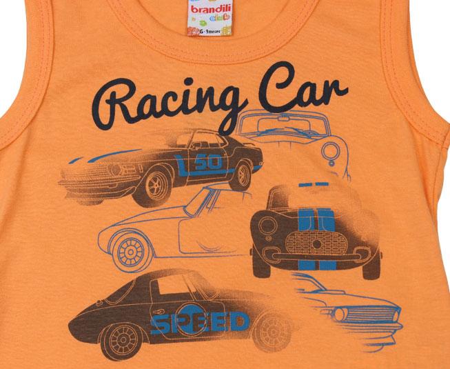 Conjunto Masculino Racing Car Brandili