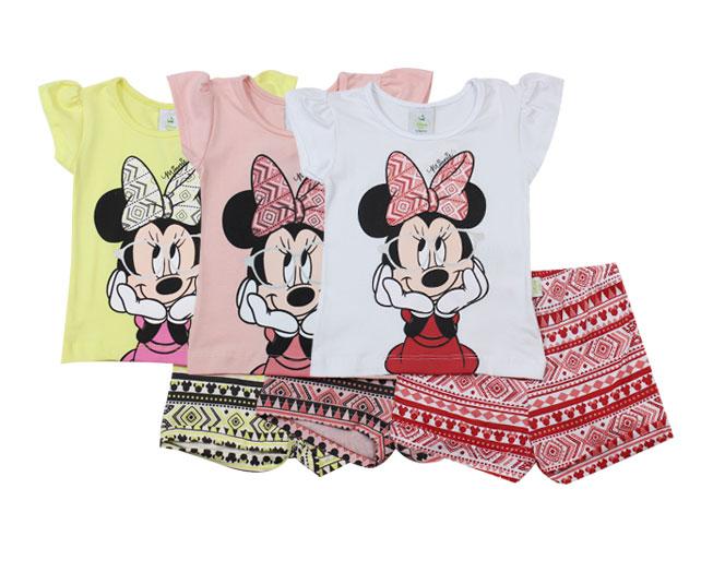 Conjunto Feminino Minnie Disney Brandili