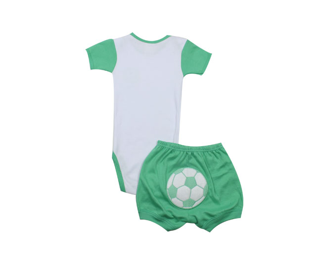 Conjunto Palmeiras Body e Short Best Club