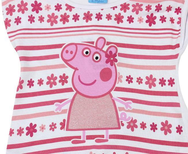 Conjunto Feminino Peppa Pig feliz Malwee