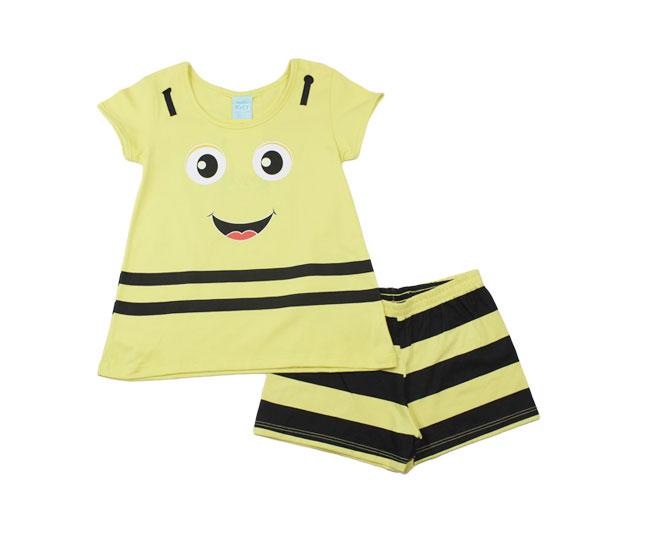 Conjunto Feminino Pijama Abelhinha Kyly