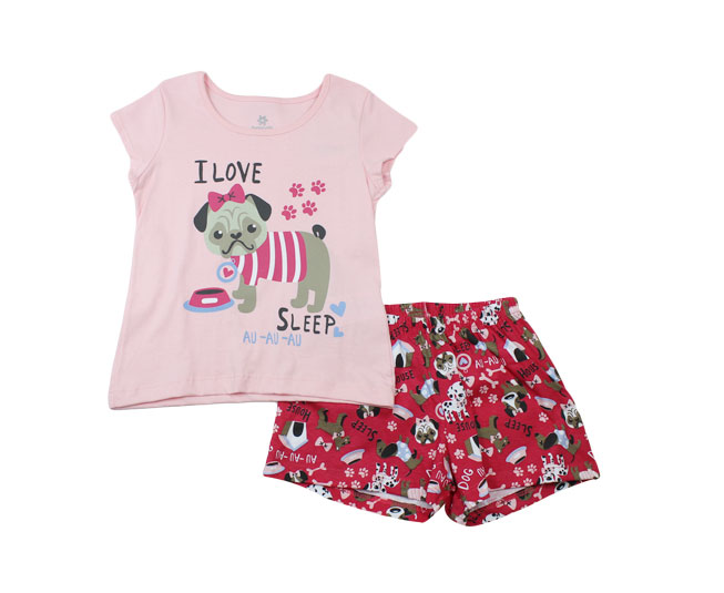"Conjunto Pijama Cachorrinho ""I love sleep"" Brandili"