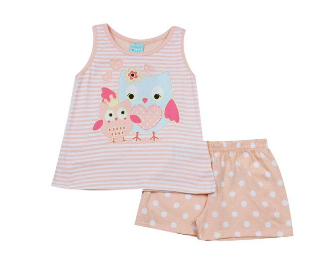 Conjunto Pijama Feminino de Corujinha kyly