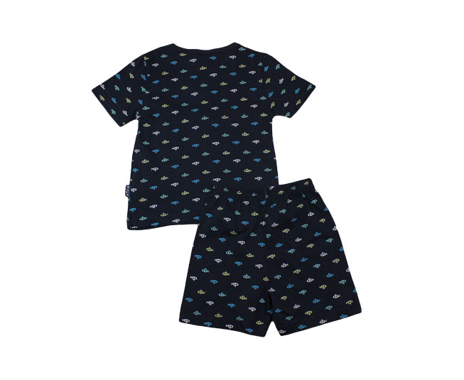 Conjunto Pijama  Azul Marinho Masculino  Kyly