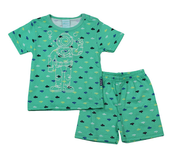 Conjunto Pijama Masculino Mergulhador Kyly