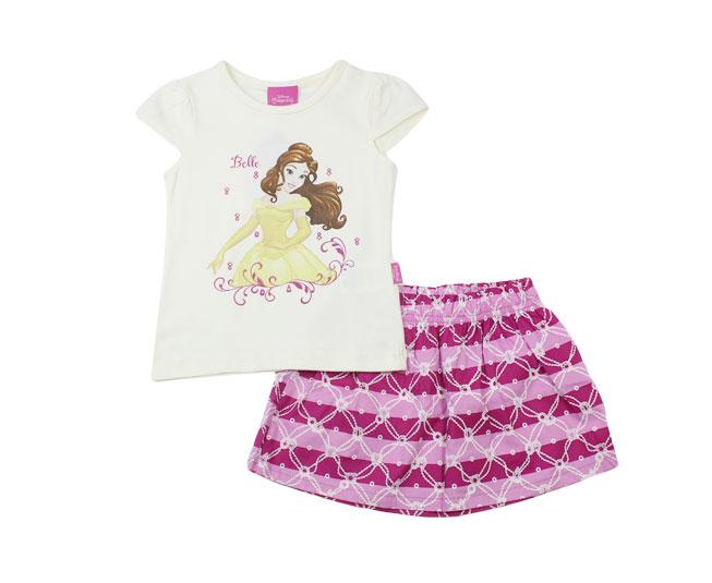 Conjunto Princesa Bella Disney Brandili