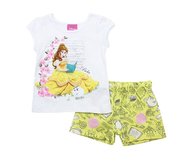 Conjunto Princesas Disney Bela Brandili