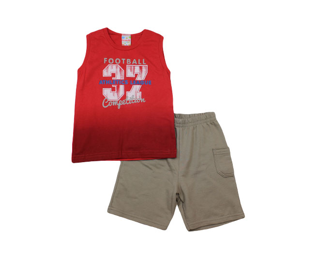 Conjunto Regata  Foot Ball + Short Brandili
