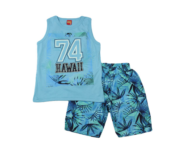 Conjunto Regata Masculino Hawaii Kyly