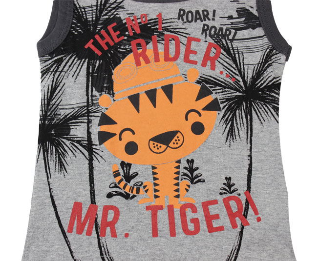 Conjunto Regata Mr. Tiger Boca Grande