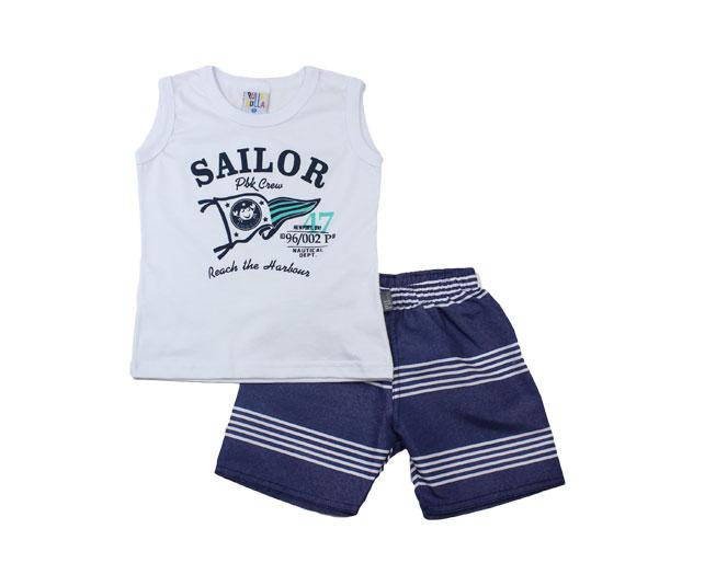 "Conjunto ""Sailor PBK Crew"" Pulla Bulla"