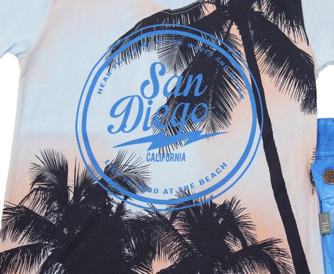 "Conjunto ""San Diego California"" Pulla Bulla"