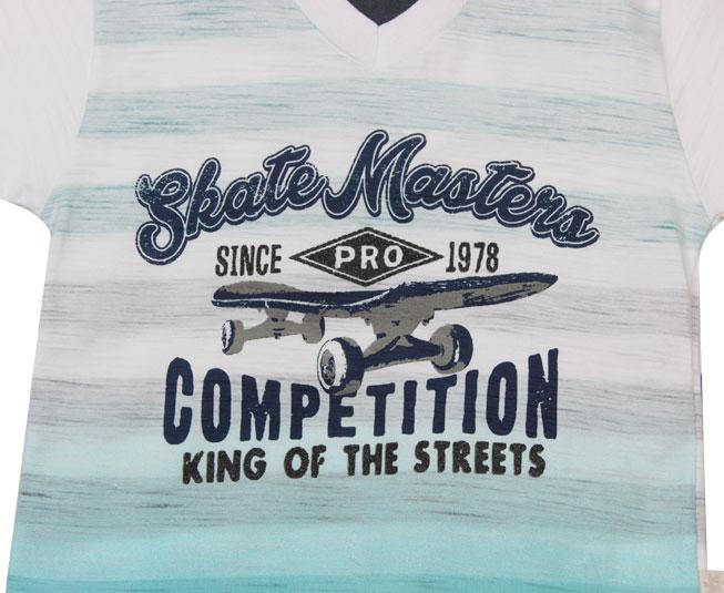 Conjunto Skate Masters Degradê Brandili