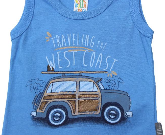 "Conjunto ""Traveling the Westcoast"" Pulla Bulla"