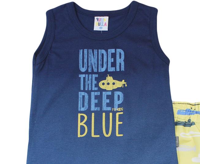 """Conjunto """"Under the deep blue""""  Pulla Bulla"""