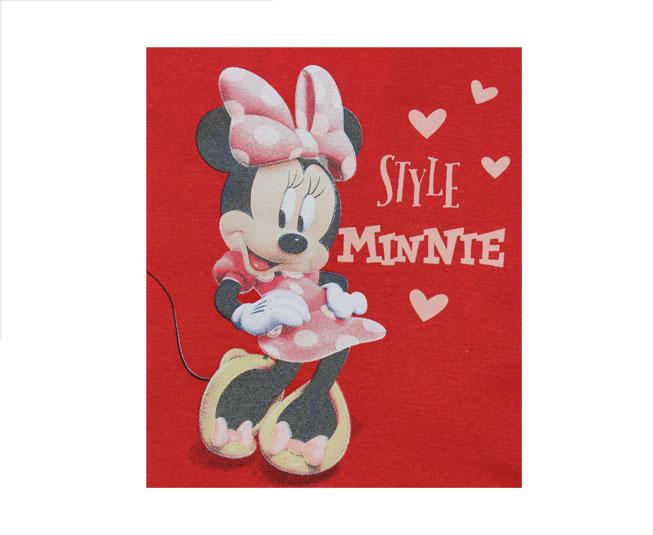 Conjunto Vermelho Minnie Super Fofo Brandili