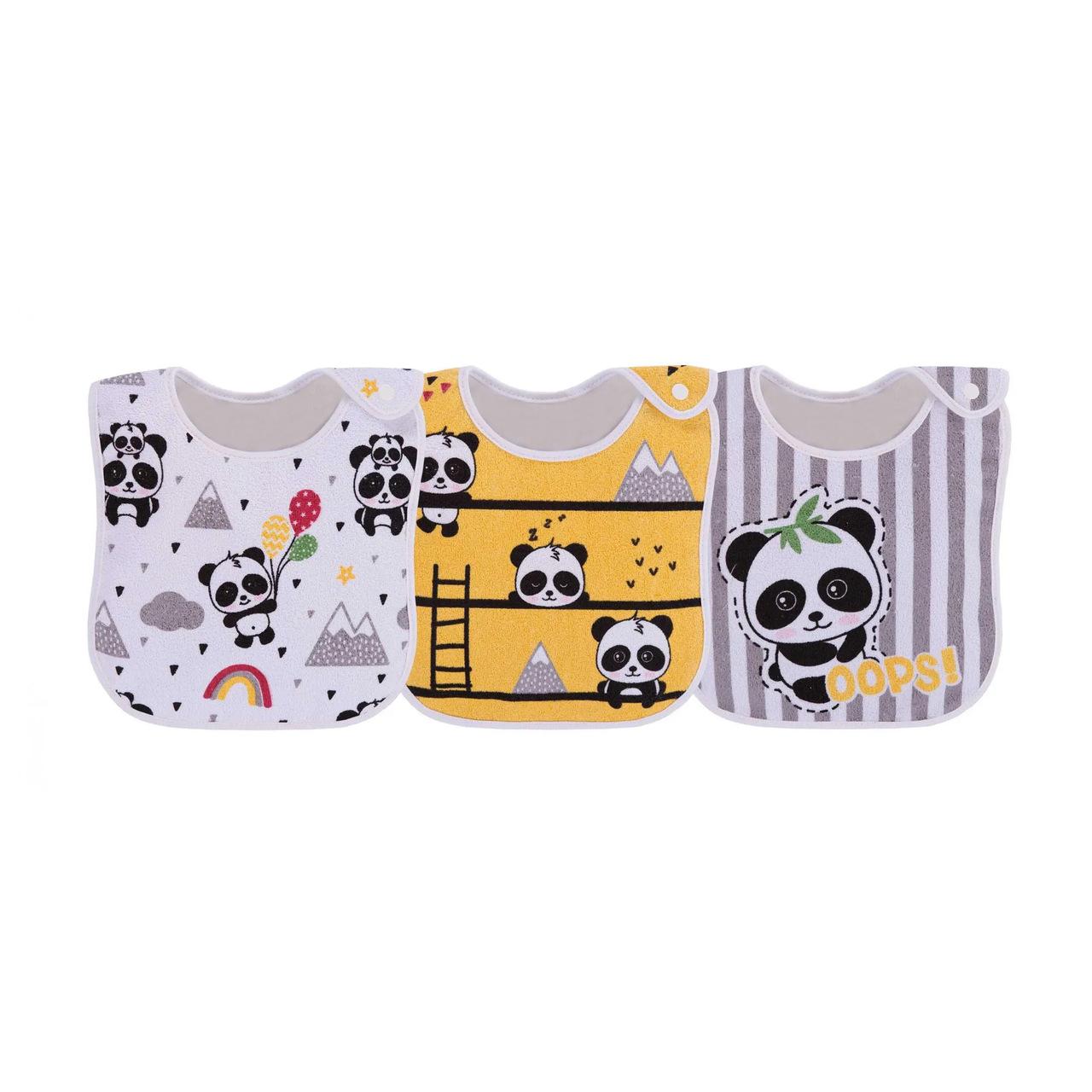 Kit De Babador Colibri Amarelo Panda
