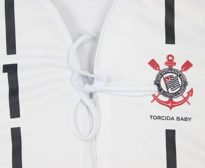 Kit Masculino Macacão +  Boné +  Saída de Maternidade Oficial Corinthians