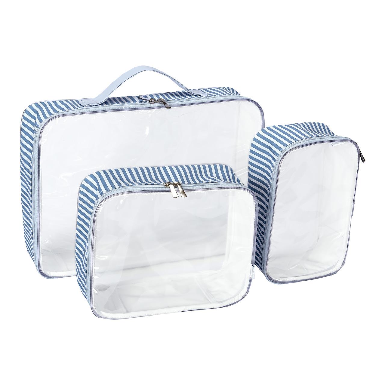 Kit Organizador De Mala Azul Batistela