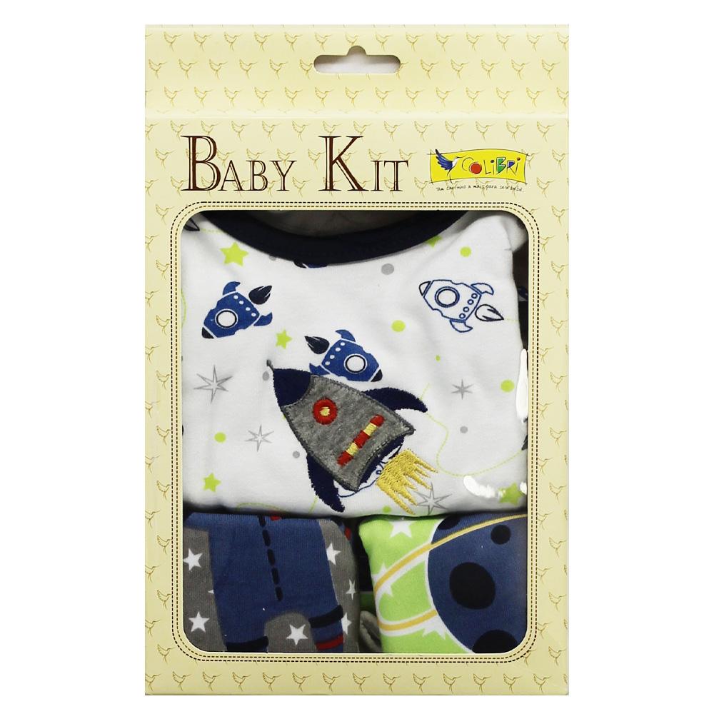 Kit Presente Bebê Menino Astronauta